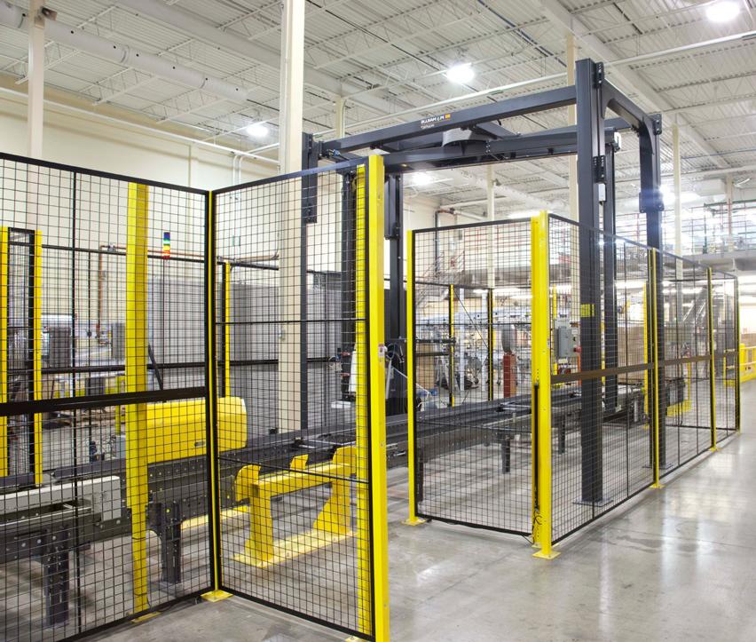 Machine Guarding Rack Systems Inc