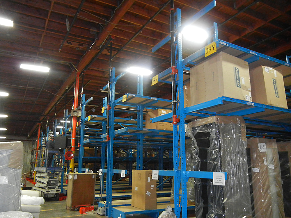 Cantilever Racking Rack Systems Inc