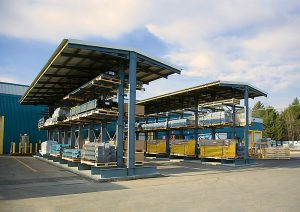 outdoor cantilever racking