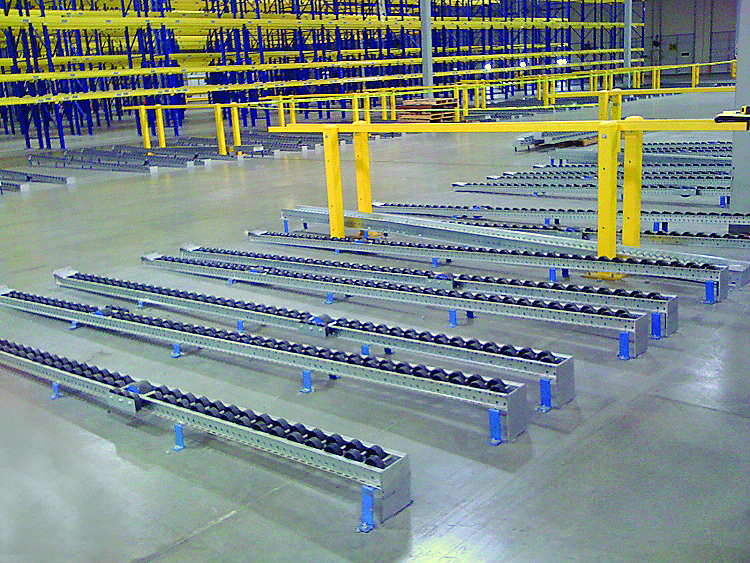 Pallet Flow Racking Rack Systems Inc