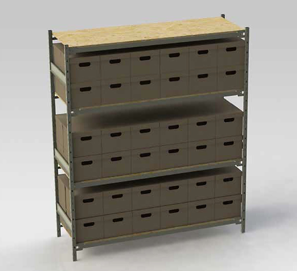 Wide Span Shelving Rack Systems Inc