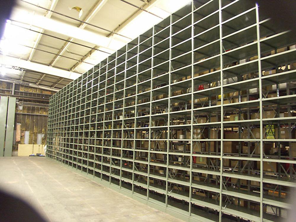 metalware boltless shelving