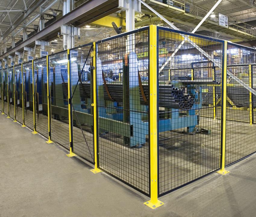 machine and warehouse equipment guarding