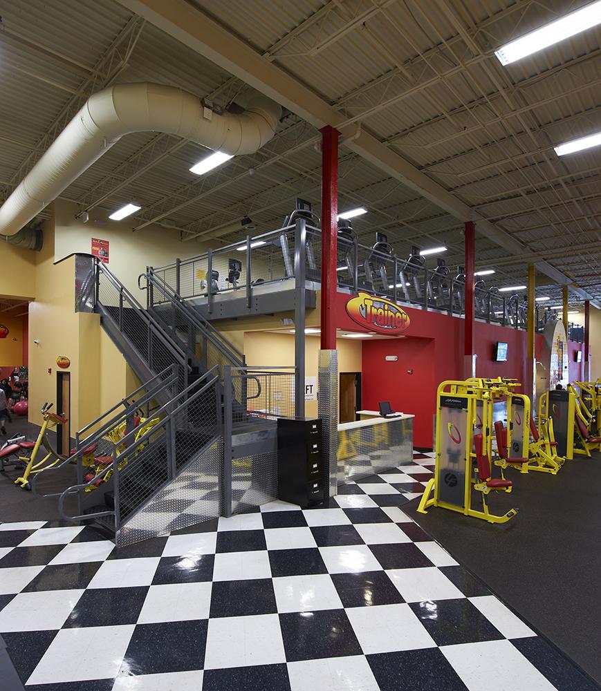 Fitness Mezzanine Cogan Industrial