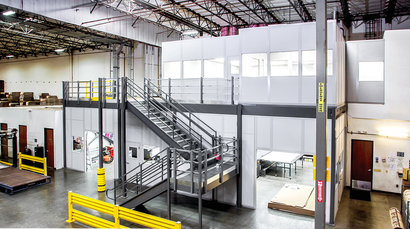 Why a Cogan Mezzanine? - Rack Systems Inc.