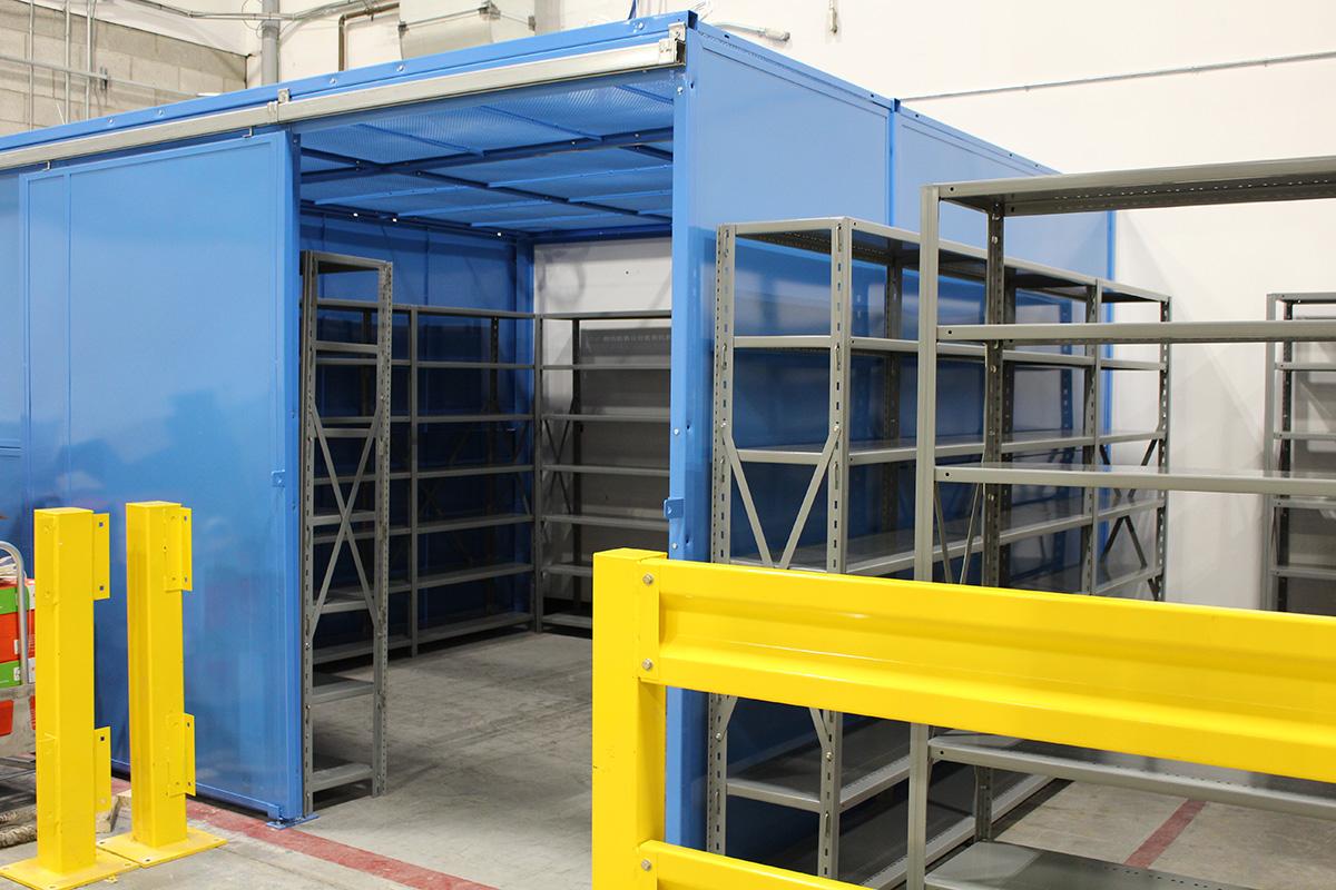 metalware-shelving-guarding
